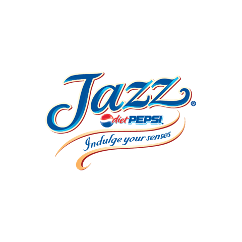 The Diet Pepsi Jazz logo.