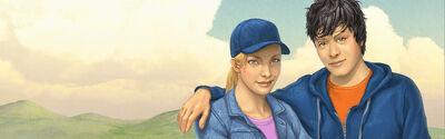 Percy et Annabeth Disney