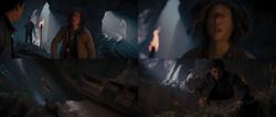 Percy Jackson La Mer des Monstres film Tyson sacrifice chute Percy choqué