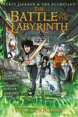 The Battle of the Labyrinth - The Graphic Novel