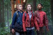 Luke, Annabeth et Grover enfants