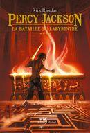 Couverture Percy Jackson La Bataille du Labyrinthe