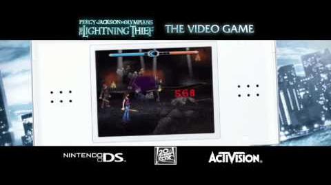 Percy Jackson et le Voleur de Foudre - Bande annonce du jeu vidéo