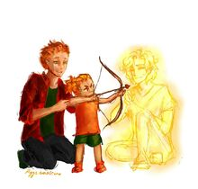 FANART Darren, Kayla et Apollon (ryys)