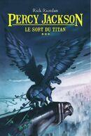 Couverture Percy Jackson Le Sort du Titan