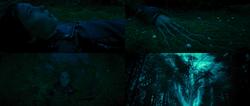 Percy Jackson La Mer des Monstres film Thalia transformation pin frontière magique camp