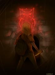 Annabeth et la marque d'Athéna