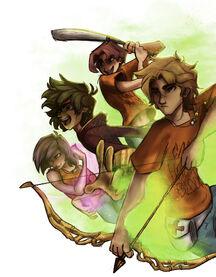 Cecil, Will, Nico et Lou