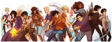 Heroes of olympus by viria13-d646876