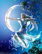 Artemis Diana Greek Goddess Art 03