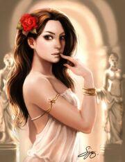 Aphrodite Venus Greek Goddess Art 09 by kamillyonsiya-231x300