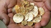 Gold drachmen