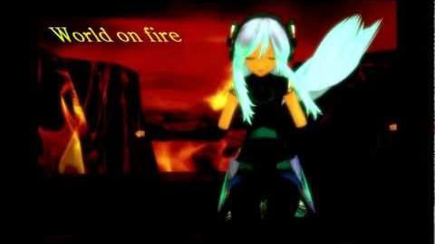 【Miery】- World on fire MMD music video-0