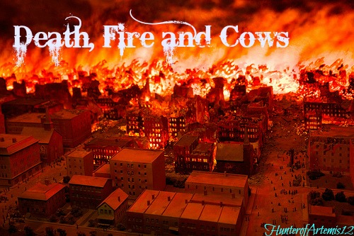 Death, Fire and Cows (Wiki Contest: April 2013) | Percy Jackson