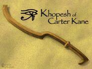 Khopesh of carter kane