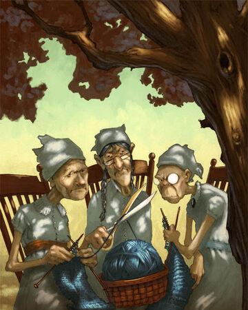 Parcas | Wiki Campamento Mestizo | Fandom