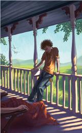 Grover on Porch