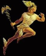 Hermes pintura