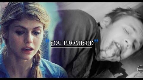 "● Luke + Annabeth ""Family, luke, you promised..."""