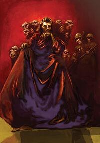 Hades creepy!