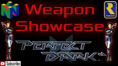 Perfect Dark - Weapons Showcase