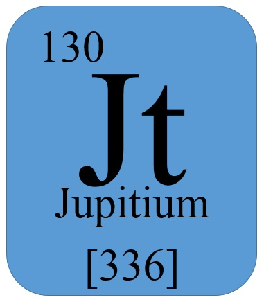 Jupitium elements wiki fandom powered by wikia this is the 130th element on the periodic table it has an atomic mass of 336 130 protons and 206 neutrons it will be found on celestial objects in the urtaz Images