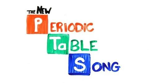 The NEW Periodic Table Song (In Order)