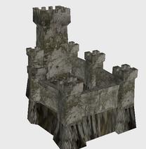 Icon castle stone castle2