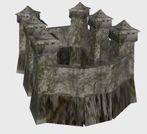 Icon stone castle