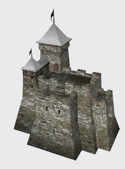 Icon castle snow b