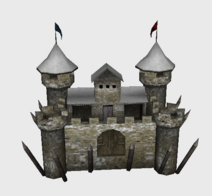 Icon castle snow a