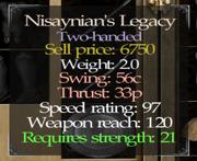 Nisaynian Legacy