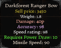 DarkforestRangerBowStats