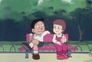 CR Mitsuo and his girlfriend