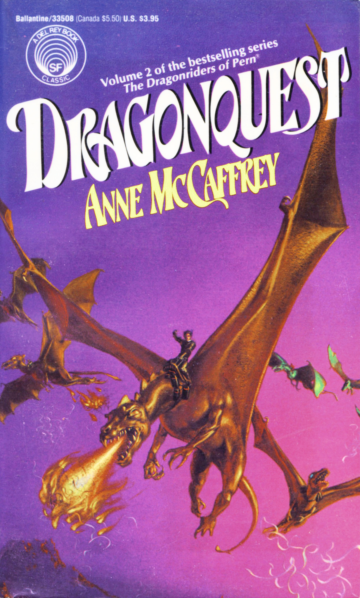 dragonquest dragonriders of pern series