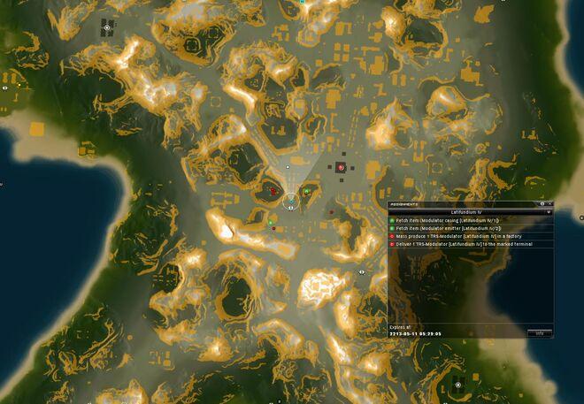 Latifundium IV Map