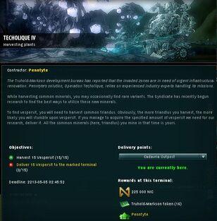 Techolique IV Info