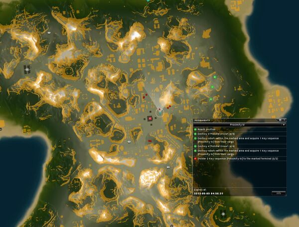 Proximity IV Map
