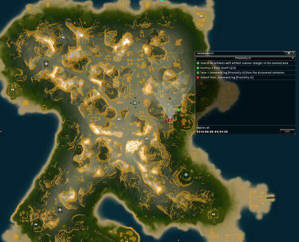 Proximity III Map