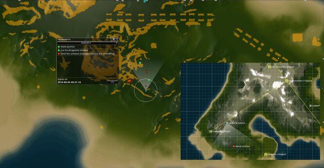 Foxtrott V map