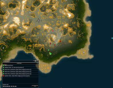 Lumina I Map