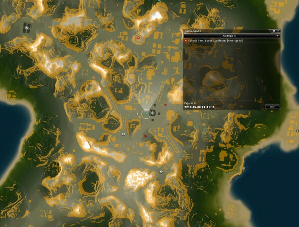 Amerigo III Map