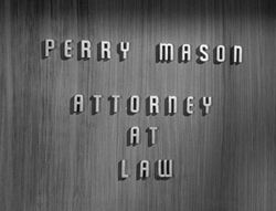 Perry mason office door