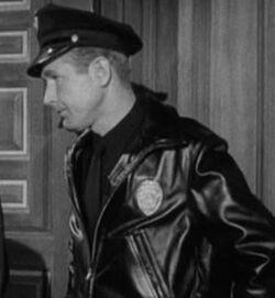Sleepwalker policeman