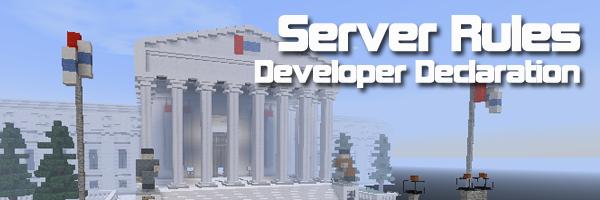Server rules declaration