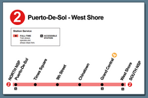 Linear Subway Map Cards for website