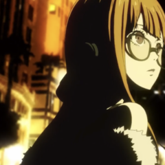 Futaba in the last opening of Persona 5 The Animation