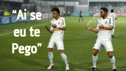 Neymar tanzt in PES 2013
