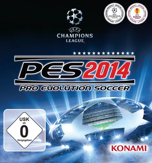 PES 2014 Offizieles Cover
