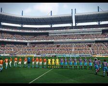 Das Konami Stadion in PES 2010 002